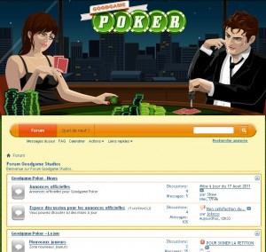 Le forum de Good game poker